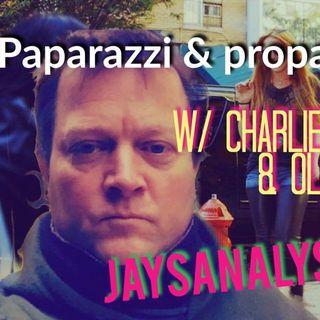 Paparazzi & Propaganda: Infamous Paparazzo Legend Charlie Pycraft Tells All -JaysAnalysis  (Half)