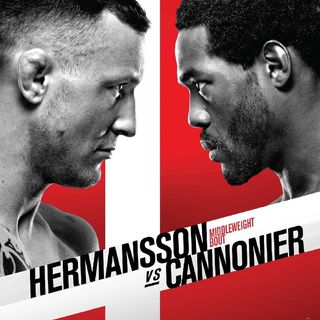 Preview Of The UFCONESPN Card Headlined By Jack Hermansson-Jared Cannonier In A Big Middleweight Contender Fight In Copenhagen In Denmark!!!