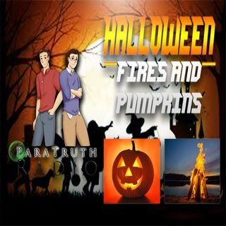 Halloween:  Fires and Pumpkins