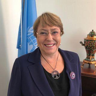 Pide Bachelet investigar muertes en protestas de Chile