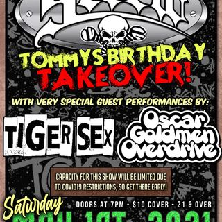 Tiger Sex - Screw @ The New Dodge Lounge 5/1/21 (Kaw)