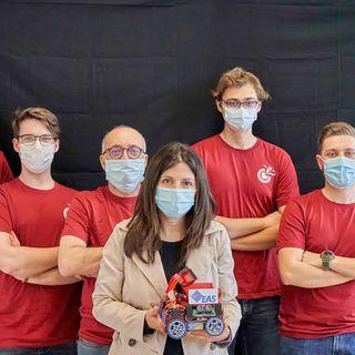 Robotica, il team di studenti del Chilesotti sbaraglia tutti alla Robocup Junior