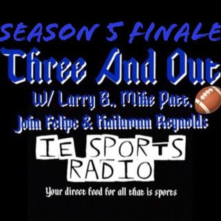 Three And Out- Season 5 Finale