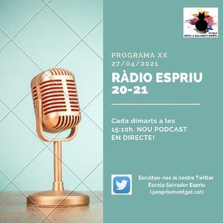 RÀDIO ESPRIU. Programa 20