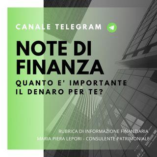 Note di Finanza | Quanto è importante per te il denaro?