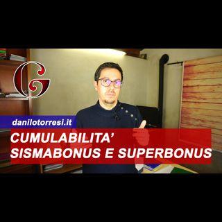 Cumulabilità Sismabonus e Superbonus 110%
