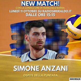 New Match! con Simone Anzani