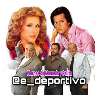 Un gusto y un placer llegar al viernes de Manuela y Palito en Espacio Deportivo de la Tarde 19 de Junio 2020