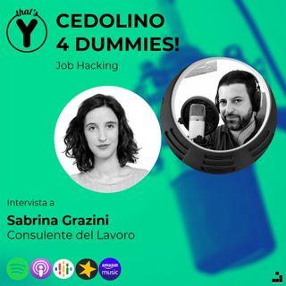 """Cedolino 4 Dummies!"" con Sabrina Grazini [Job Hacking]"
