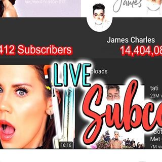 JAMES CHARLES CANCELLED #JAMESCHARLES#TATIWESTBROOK#JEFFREESTAR
