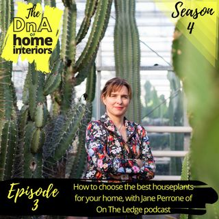 How to choose the best houseplants for your home with Jane Perrone of On The Ledge podcast