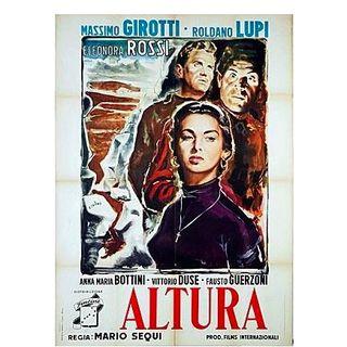 "Diari di Cineclub "" ALTURA. ROCCE INSANGUINATE (1949) di Mario Sequi presentazione"