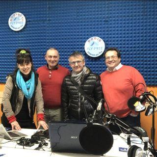 Ospiti a Sorpresa a Radio Dream on Fly  Giorgio Aurga e Marco Muccio con Francesco D'Alessandro e Ivana Posti