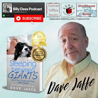 """HumorOutcasts Interview with Author Dave Jaffe """"Sleeping Between Giants"""""""