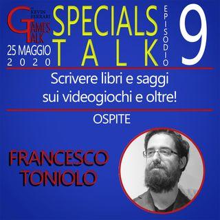 """Episodio #9 - """"Scrivere libri e saggi sui videogiochi"""" con Francesco Toniolo"""