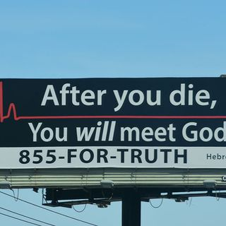 Billboards, Jesus, and Mental Health