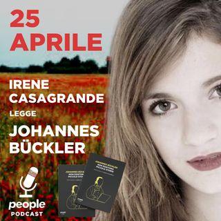#25Aprile - Irene Casagrande legge Johannes Bückler