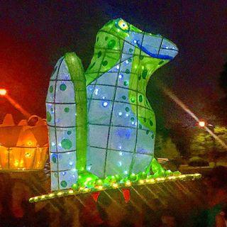 Inaugural Lantern Parade in Sandy Springs, Georgia