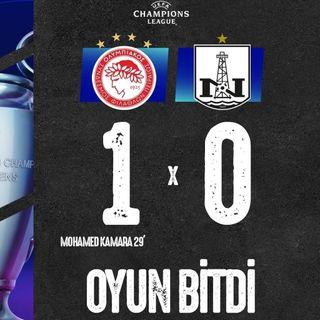 Olimpiakos 1-0 Neftçi | Overtime #21