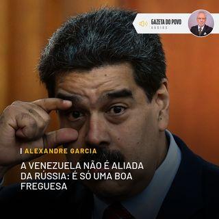 A Venezuela não é aliada da Rússia: é só uma boa freguesa