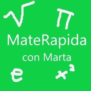 MateRapida con Marta - Regola di Cartesio