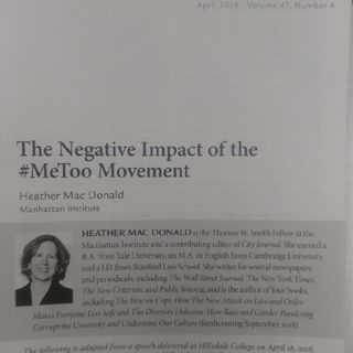 The Negative Impact of the #MeToo Movement!