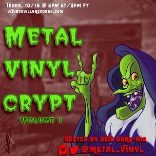 Metal Vinyl Crypt Vol 1