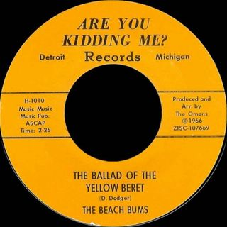 The Beach Bums - The Ballad of the Yellow Beret