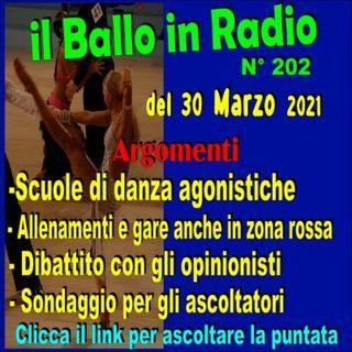 Il Ballo in Radio 202 del 30 Marzo