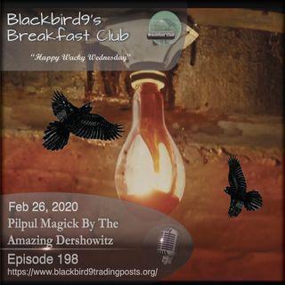 Pilpul Magick By The Amazing Dershowitz - Blackbird9 Podcast