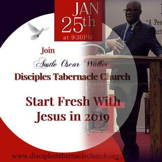 Start Fresh With Jesus in 2019!