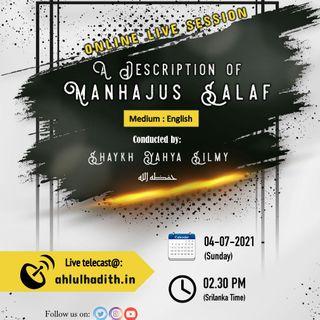 Description of the Manhajus Salaf