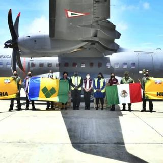 México, dona ventiladores y suministros a Latinoamérica y el Caribe