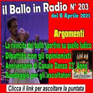 Il Ballo in Radio N° 203