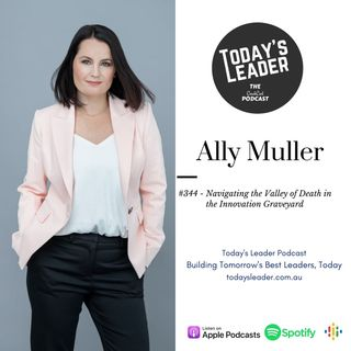 #344 Ally Muller - Defeating the Valley of Death and the Innovation Graveyard