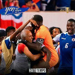 Haiti gold cup 2019 1/4 de finals