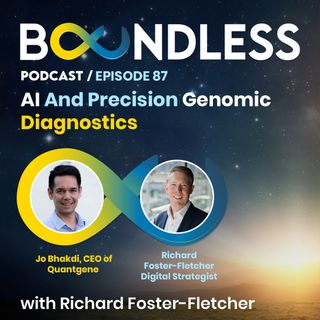EP87: Jo Bhakdi, CEO of Quantgene: AI and precision genomic diagnostics