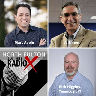 IT Help Atlanta with Rick Higgins:  Marc Apple, Forward Push, and Al Simon, Sandler Training by Simon Inc.