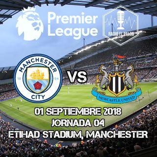 Manchester City vs Newcastle United en VIVO