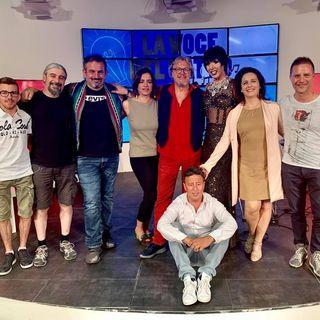Massimo Gallinati con Andrea Fecchio e Violetta, dolcissima drag queen