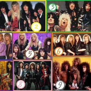 Cuando el Rock se pintó los labios, Glam Metal