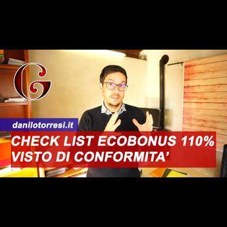 Visto di Conformità Ecobonus col Superbonus 110%