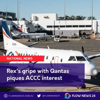 Rex's dispute with Qantas over regional air routes