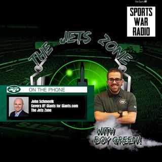 The Jets Zone: John Schmeelk interview (#NYGvsNYJ previewing the Battle for New York)