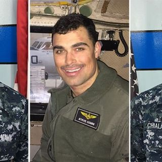 US Navy Identifies 3 Sailors Lost At Sea