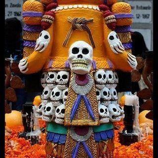 Día De Muertos Prehispánico
