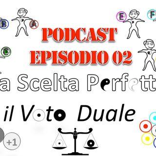 02 Spiegando LA SCELTA PERFETTA e IL VOTO DUALE  all'amico Antonio