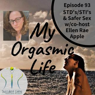 STI & STD and Safer Sex Practices with co-host Ellen Rae Apple Ep. 93