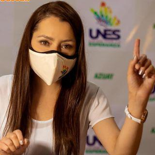 El candidato: Andrea Gonzalez, UNES