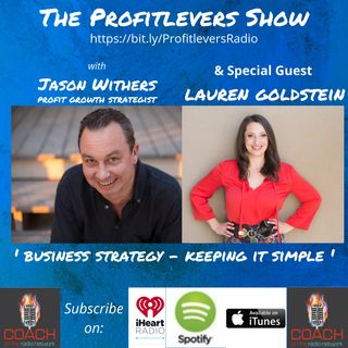 How to Simplify Your Business Strategy with Lauren Goldstein